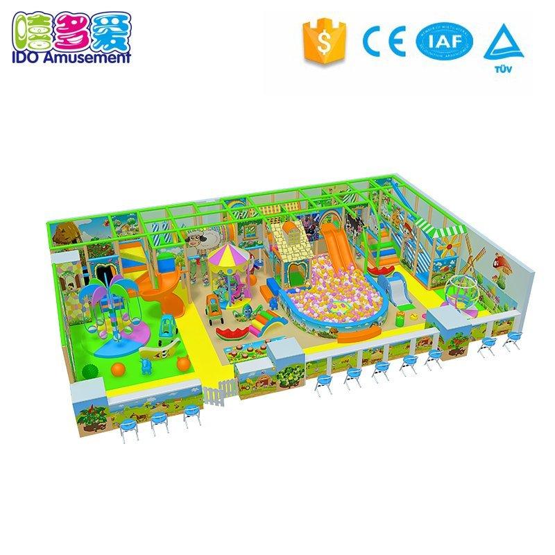 IDO Amusement Grass Theme Kids Indoor Playground With Different Type 101-200m² info