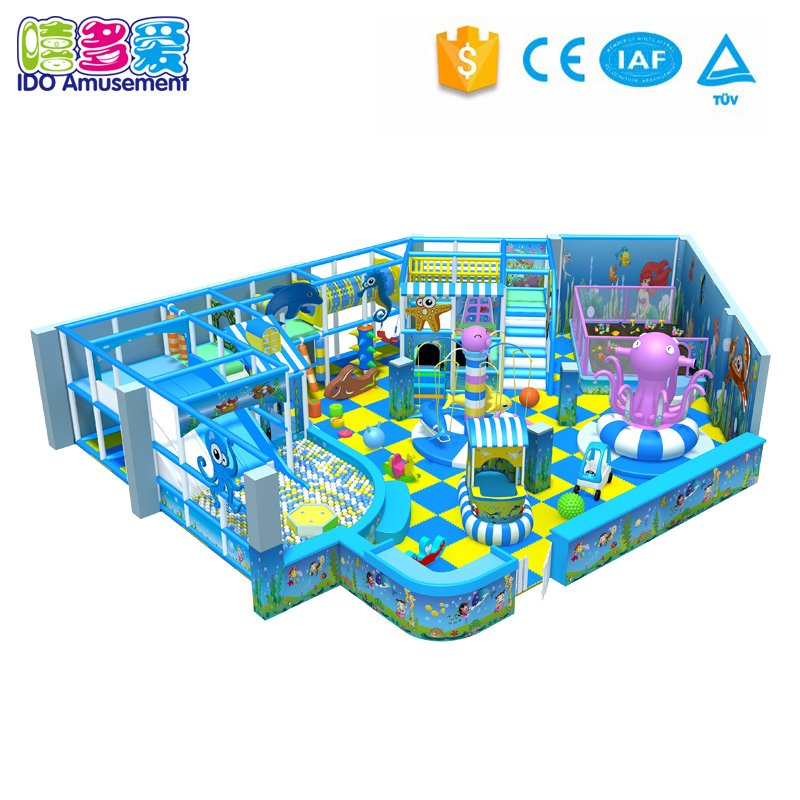 Grass Theme Kids Indoor Playground With Different Type 101-200m²
