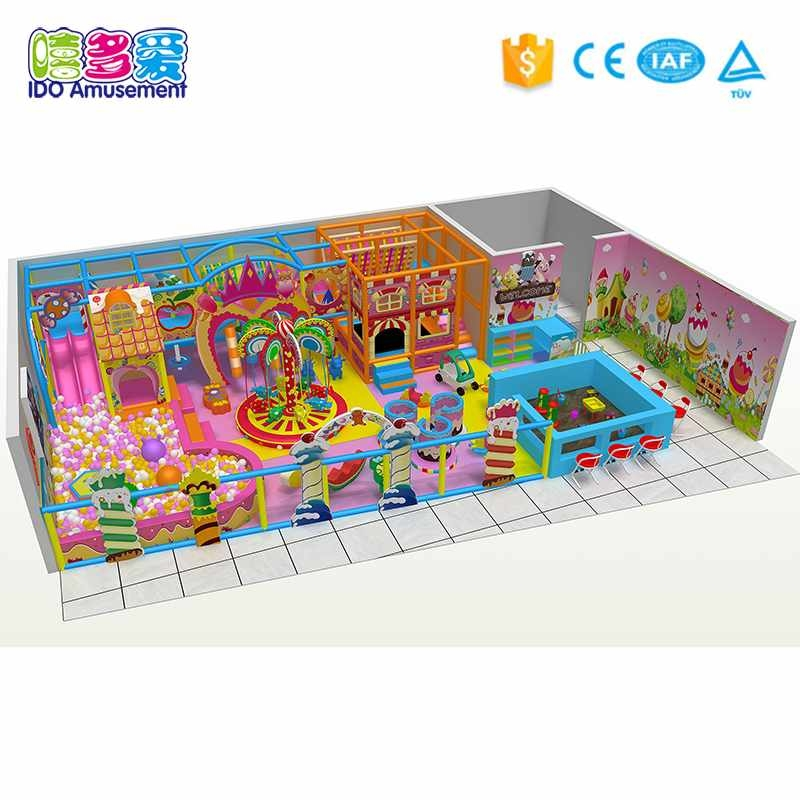 The guide of Dreamland Commercial Kids Indoor Playground Equipment 101-200m²