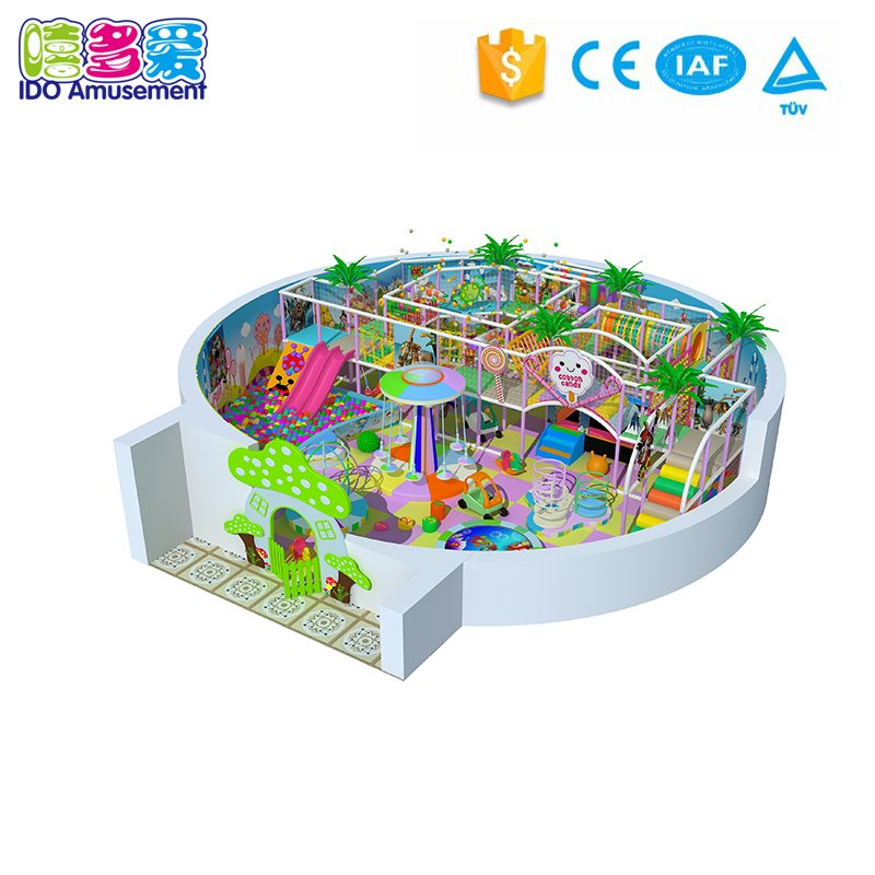 Dreamland Commercial Kids Indoor Playground Equipment 101-200m²