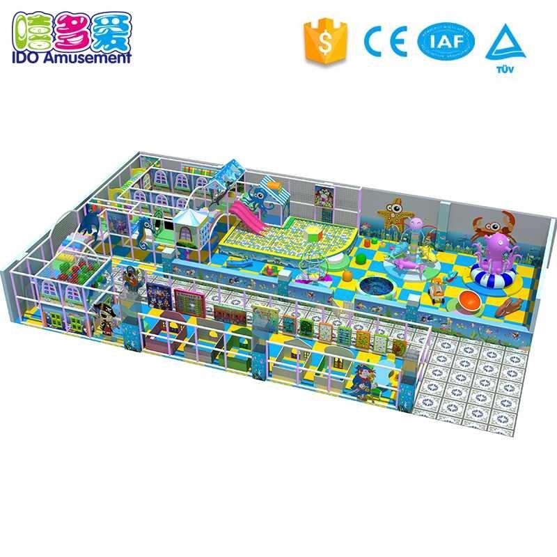 IDO Amusement Commercial Children Amusement Naughty Castle Playground Park Equipment 201-300m² info