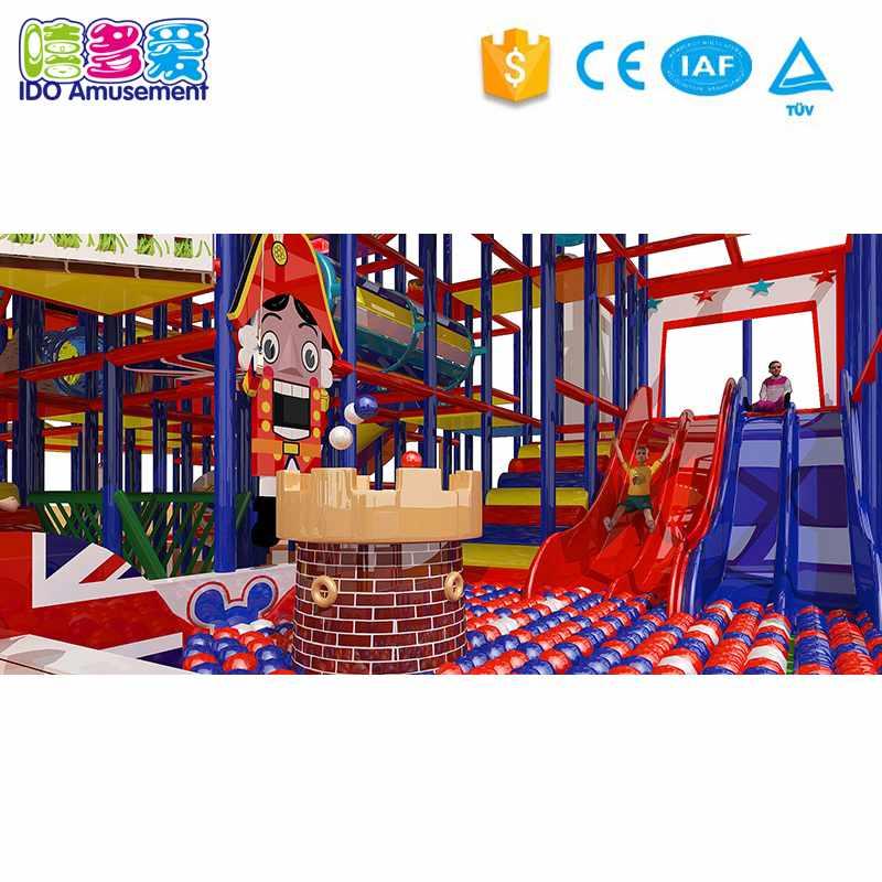 London Style Children Indoor Soft Playground 301-400m²