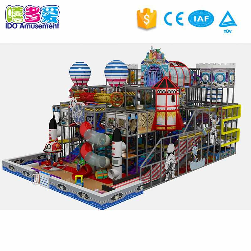 Robort Theme Kids Soft Indoor Playground Equipment 301-400m²
