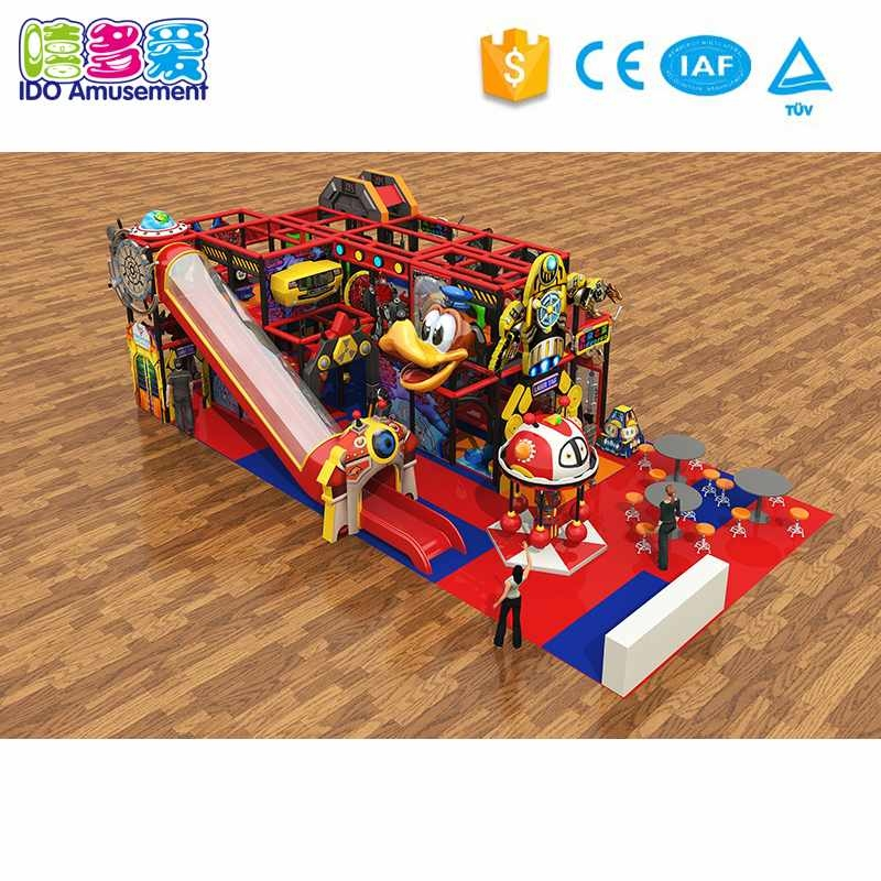 How to go through the indoor soft play equipment customization?