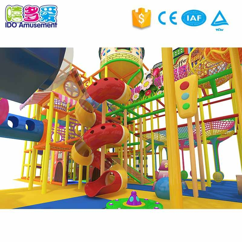 Attractive Children Commercial Naughty Castle Indoor Playground Equipment Above 400m²