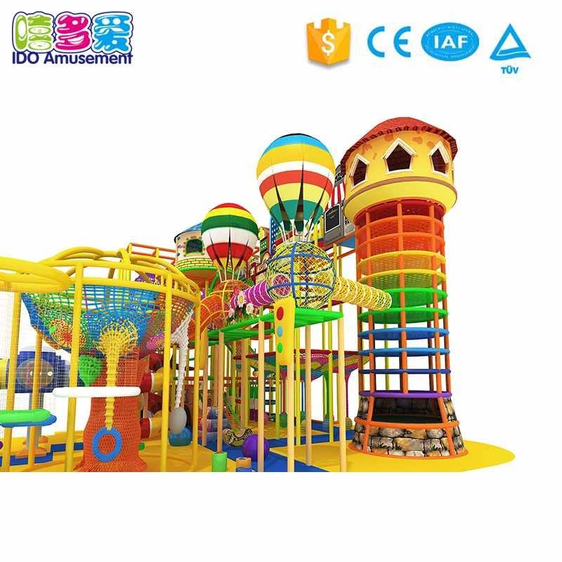 IDO Amusement Attractive Children Commercial Naughty Castle Indoor Playground Equipment Above 400m² info