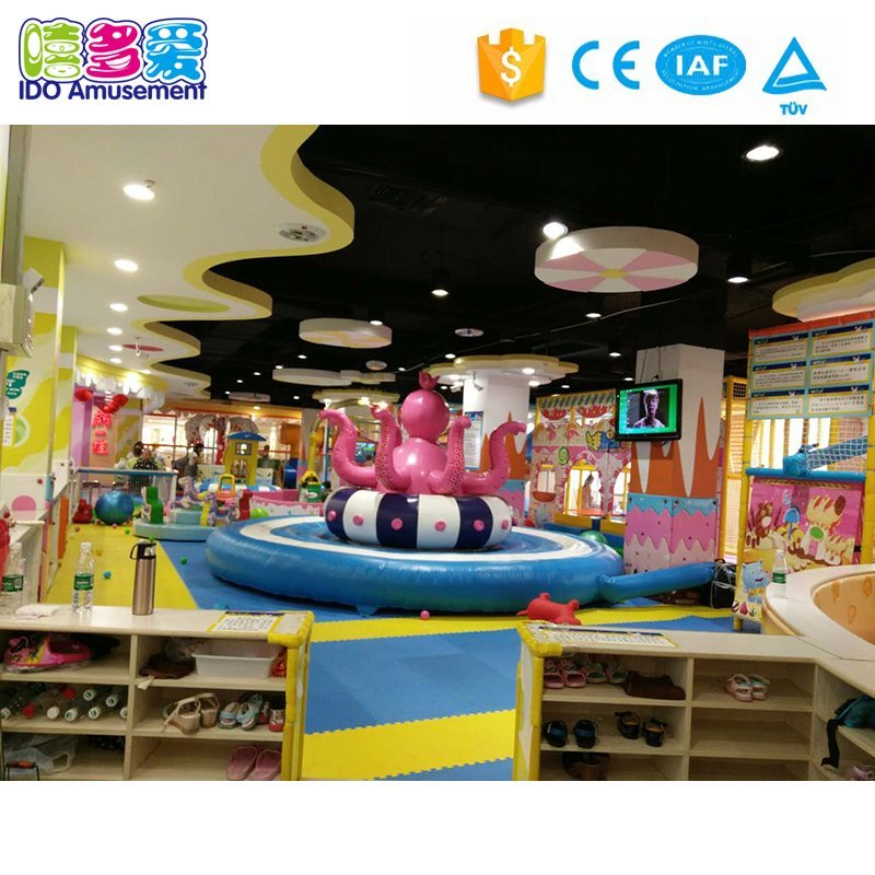 Candy Theme Children Soft Indoor Playground Equipment