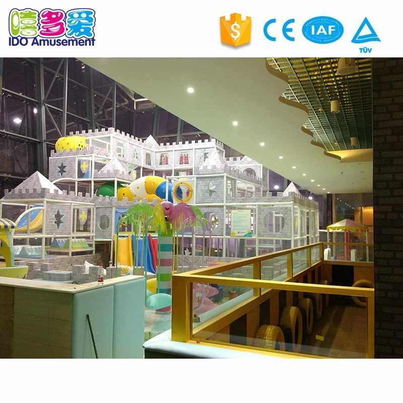 Castle Theme Children Toys Amusement Park Indoor Playground Equipment