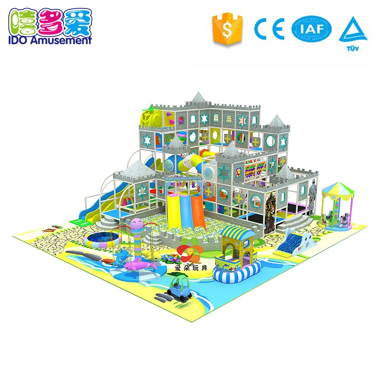 Castle Theme Children Toys Amusement Park Indoor Playground Equipment