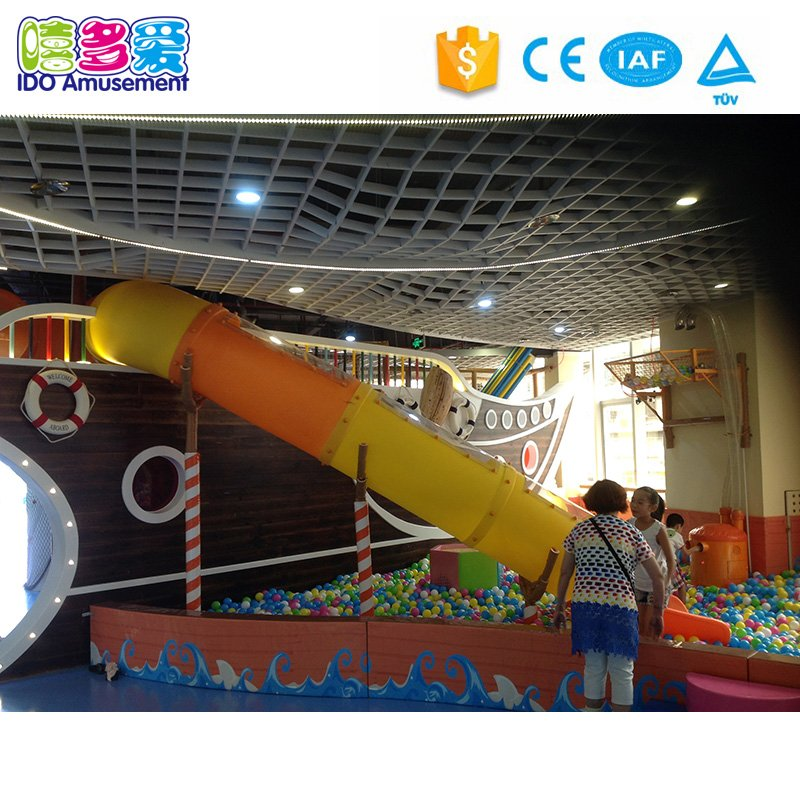 Pirate Theme Commercial Kids Play Land Indoor Playground Equipment