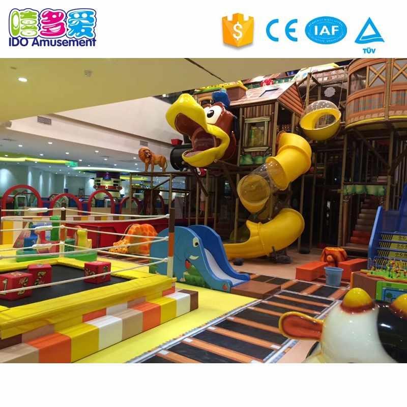 Animals Theme Kids Cheer Indoor Playground Equipment