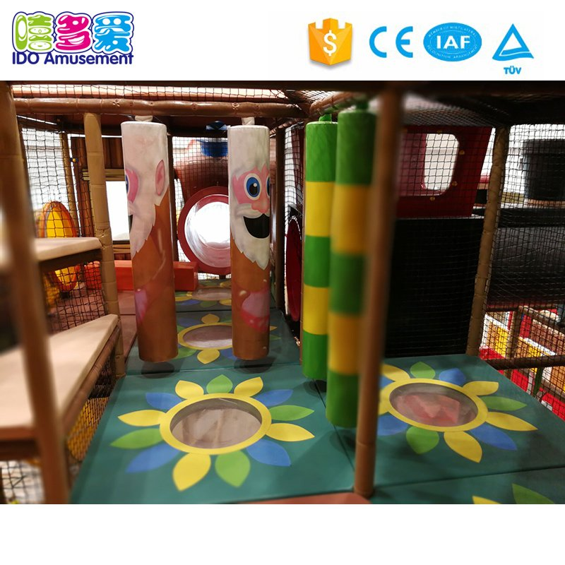 Animals Theme Kids Cheer Indoor Playground Equipment