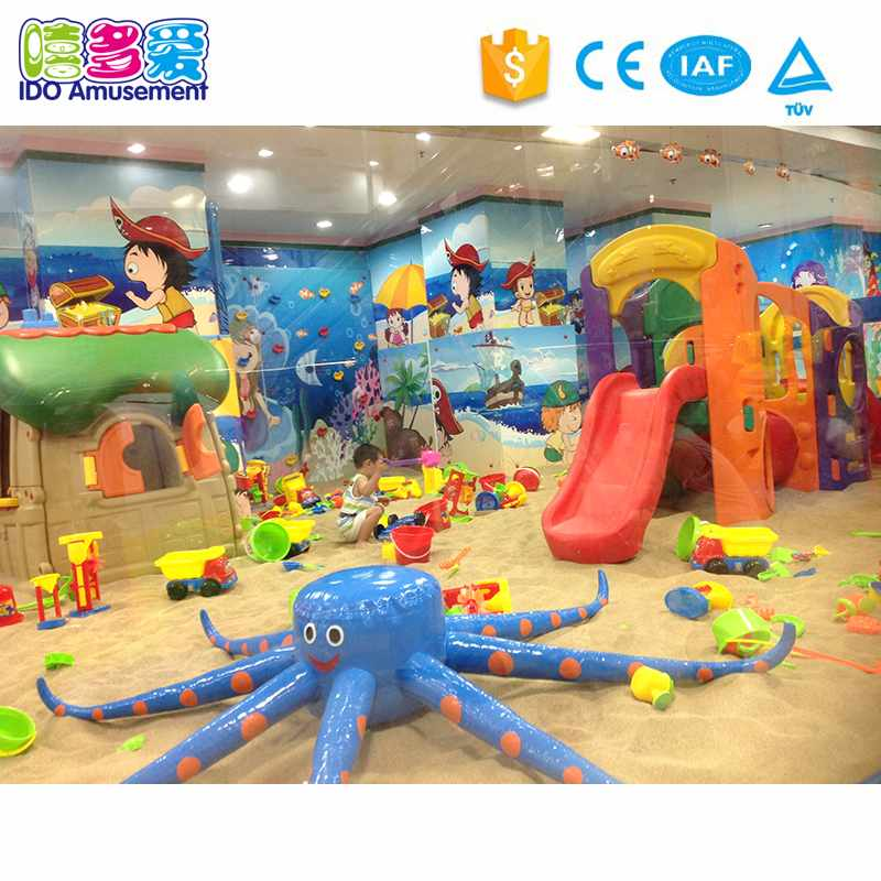 Ocean Theme Children aughty CastleIndoor Playground Amusement Equipment