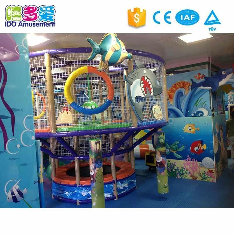 Ocean Theme Children aughty CastleIndoor Playground Amusement Equipment