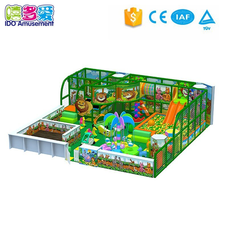 Forest Theme Indoor Playground Soft Play Toys Business Equipment