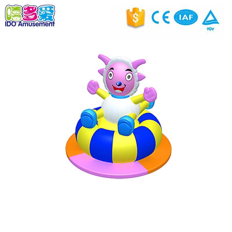 New change indoor soft playground new design and kid indoor playground equipment, indoor soft playground Inflatable rabbit carou