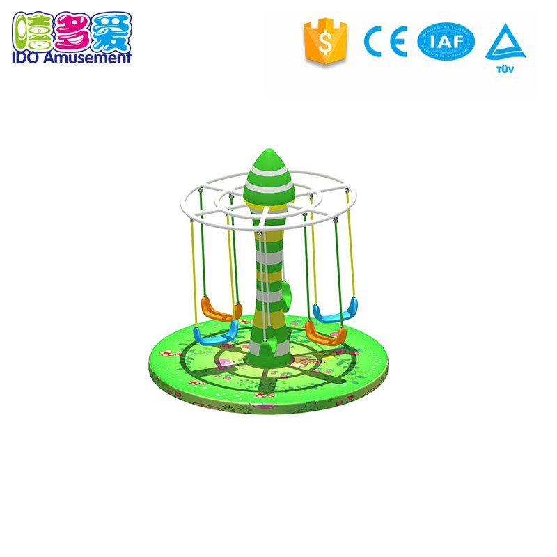 Kids Soft Play Colorful Global turntable Indoor Play Equipment