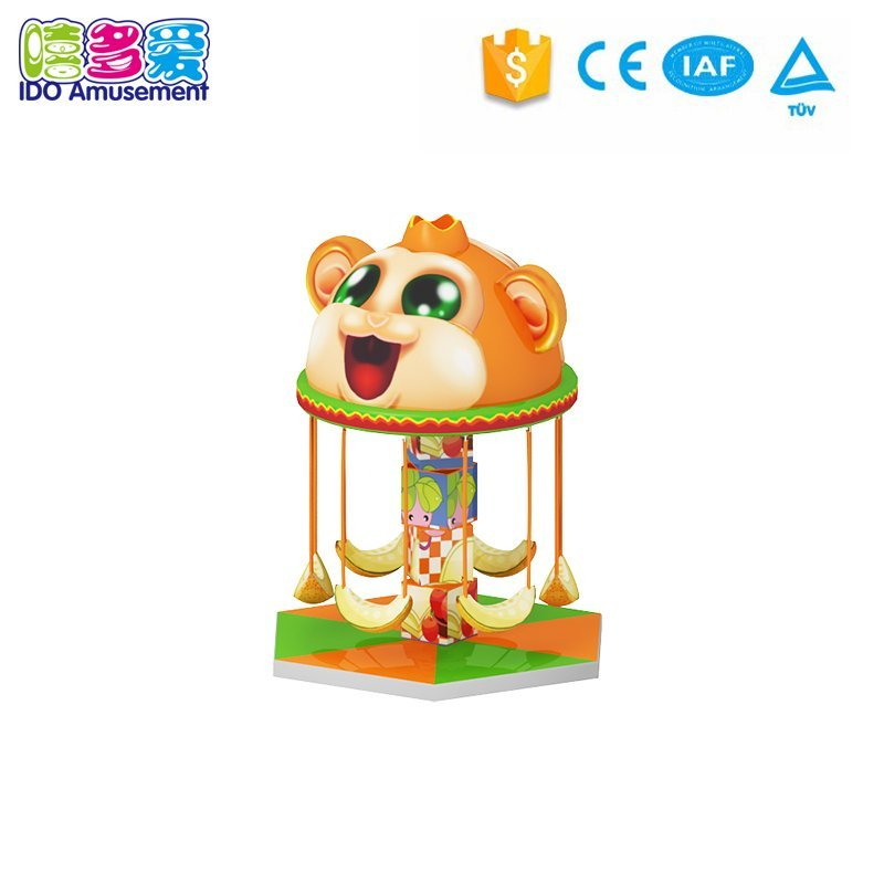Monkey Swing Carousel Merry-Go-Around Kids Playground