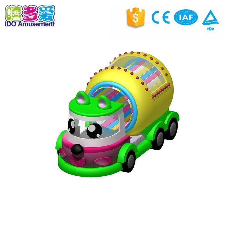 Customized new style kids indoor playground IDO Amusement indoor soft play items electric pirate boat