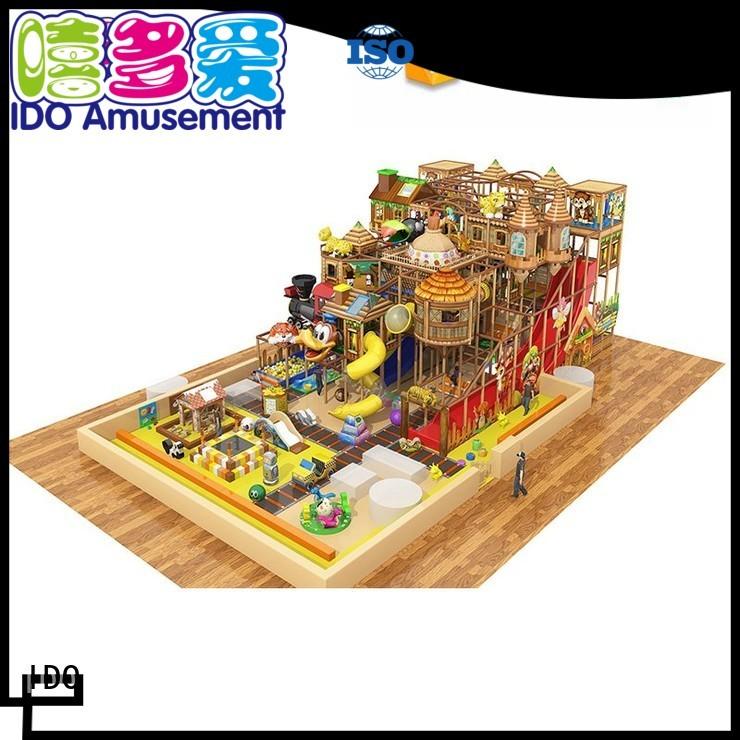 forest indoor ocean playground childrens indoor play area IDO