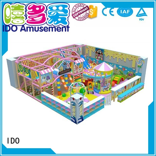 ball below indoor gym toddler style IDO company