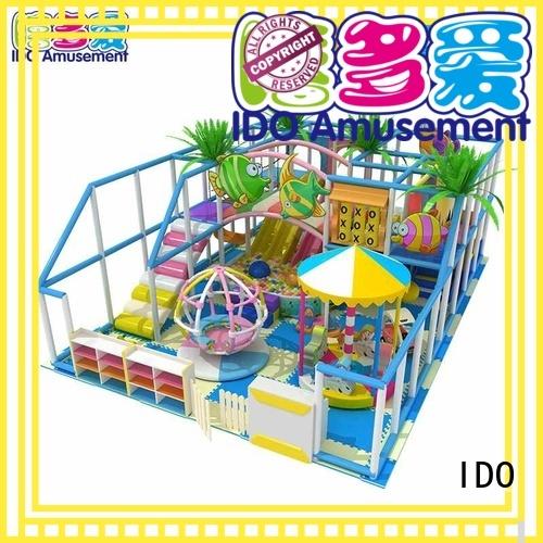 Wholesale naughty kids commercial indoor playground equipment IDO Brand