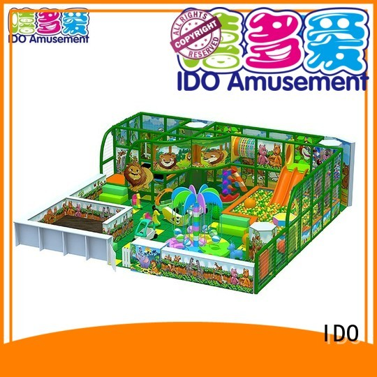 IDO Brand jungle space land childrens indoor play area manufacture