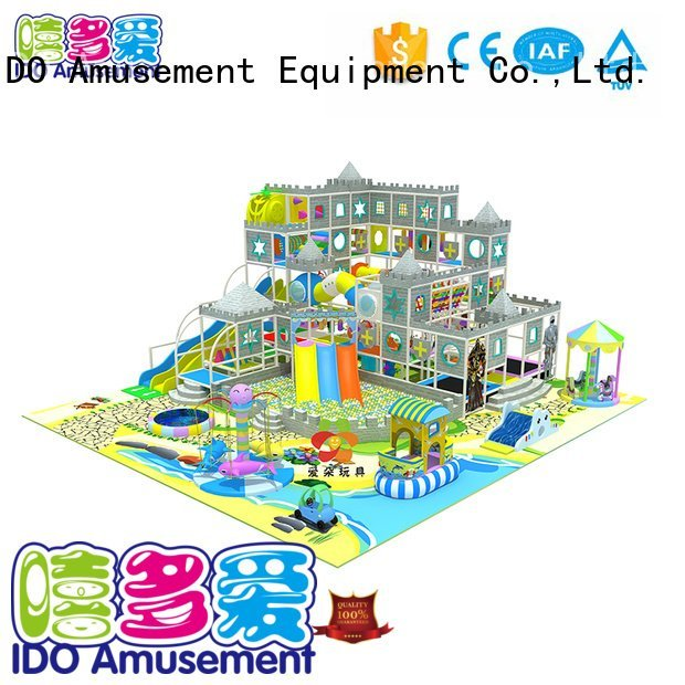 Hot toddler indoor gym ball castle business Brand