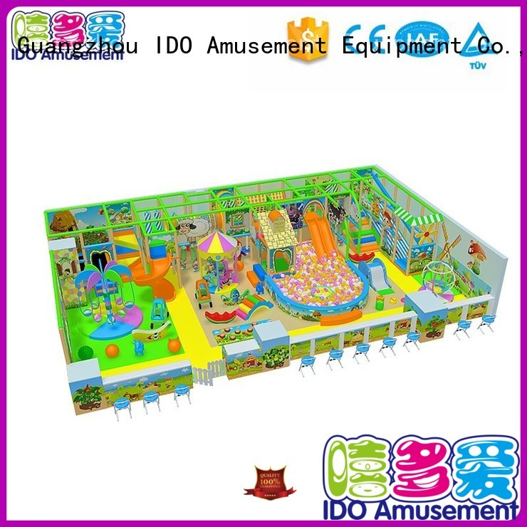 indoor gym toddler jumping 101200m² commercial indoor playground equipment Brand