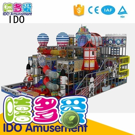 indoor gym toddler 100m² naughty IDO Brand commercial indoor playground equipment