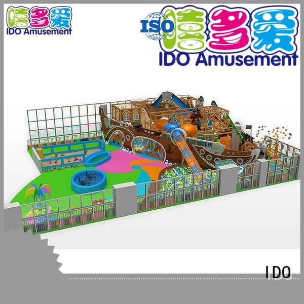IDO Brand commercial large toddler indoor gym castle