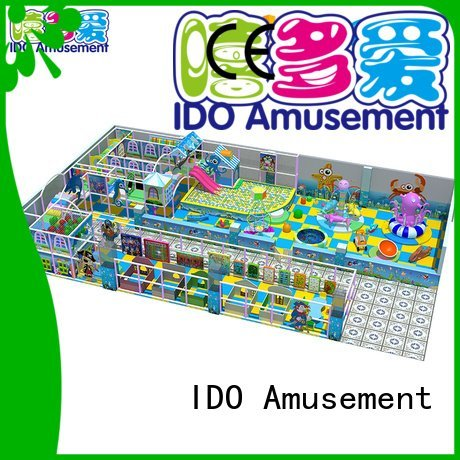 Custom slide pool commercial indoor playground equipment