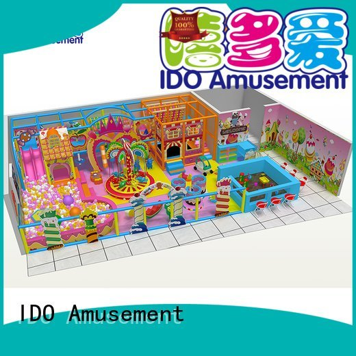 Quality Brand 400m² commercial indoor playground equipment