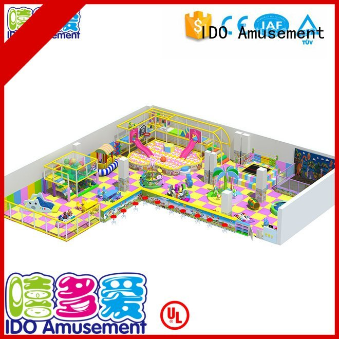 Quality Brand indoor gym toddler above