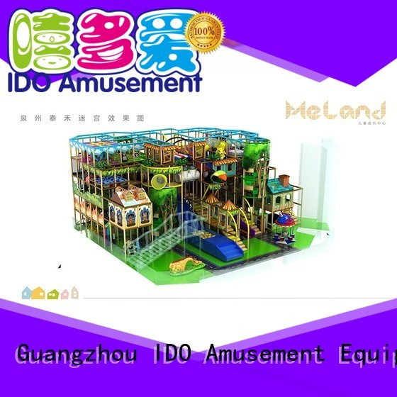 Brand structure space childrens indoor play area manufacture