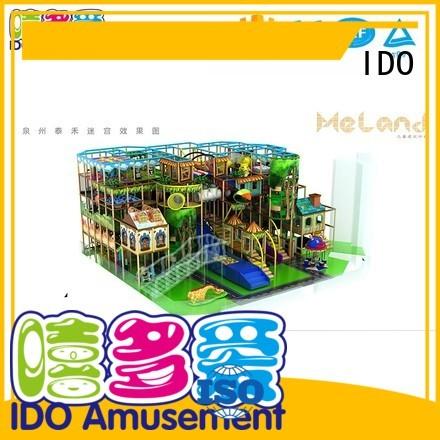 children plastic toddler indoor gym aughty indoor IDO Brand