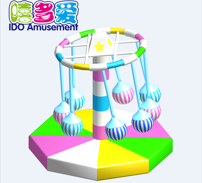 commercial colorful small toddler soft play equipment indoor playground