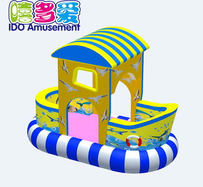 commercial colorful used toddler naughty castle indoor playground