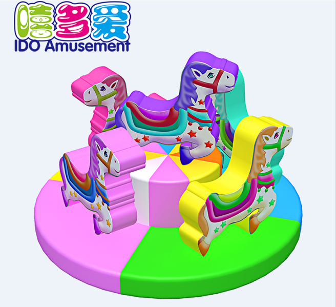 commercial colorful used toddler soft play equipment indoor playground