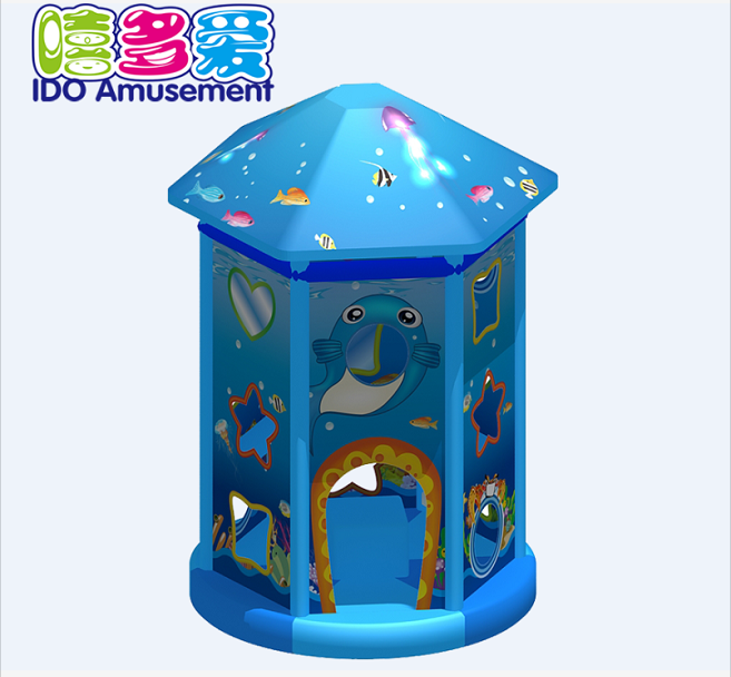 commercial colorful used children soft play equipment indoor playground
