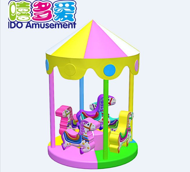 commercial colorful used kids naughty castle indoor playground