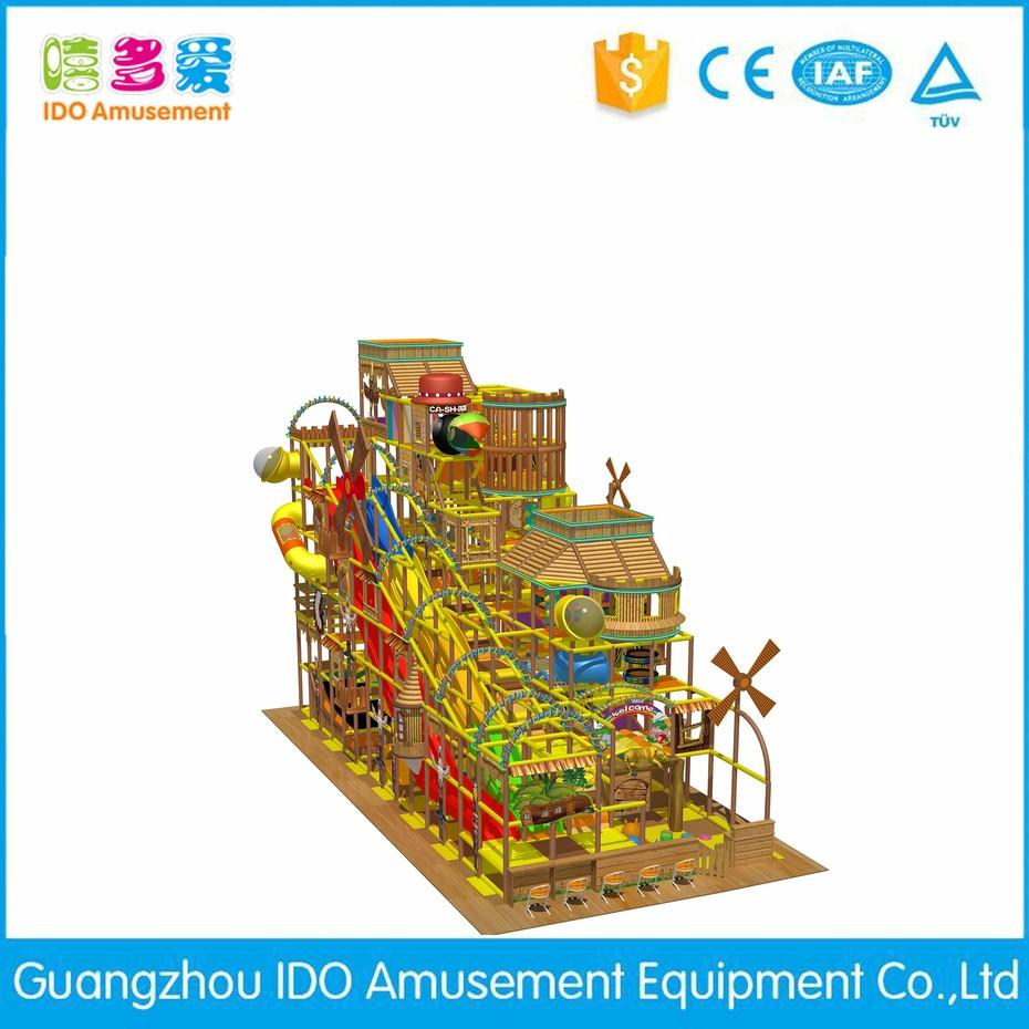 IDO Amusement high quality kid amusement indoor playhouse info