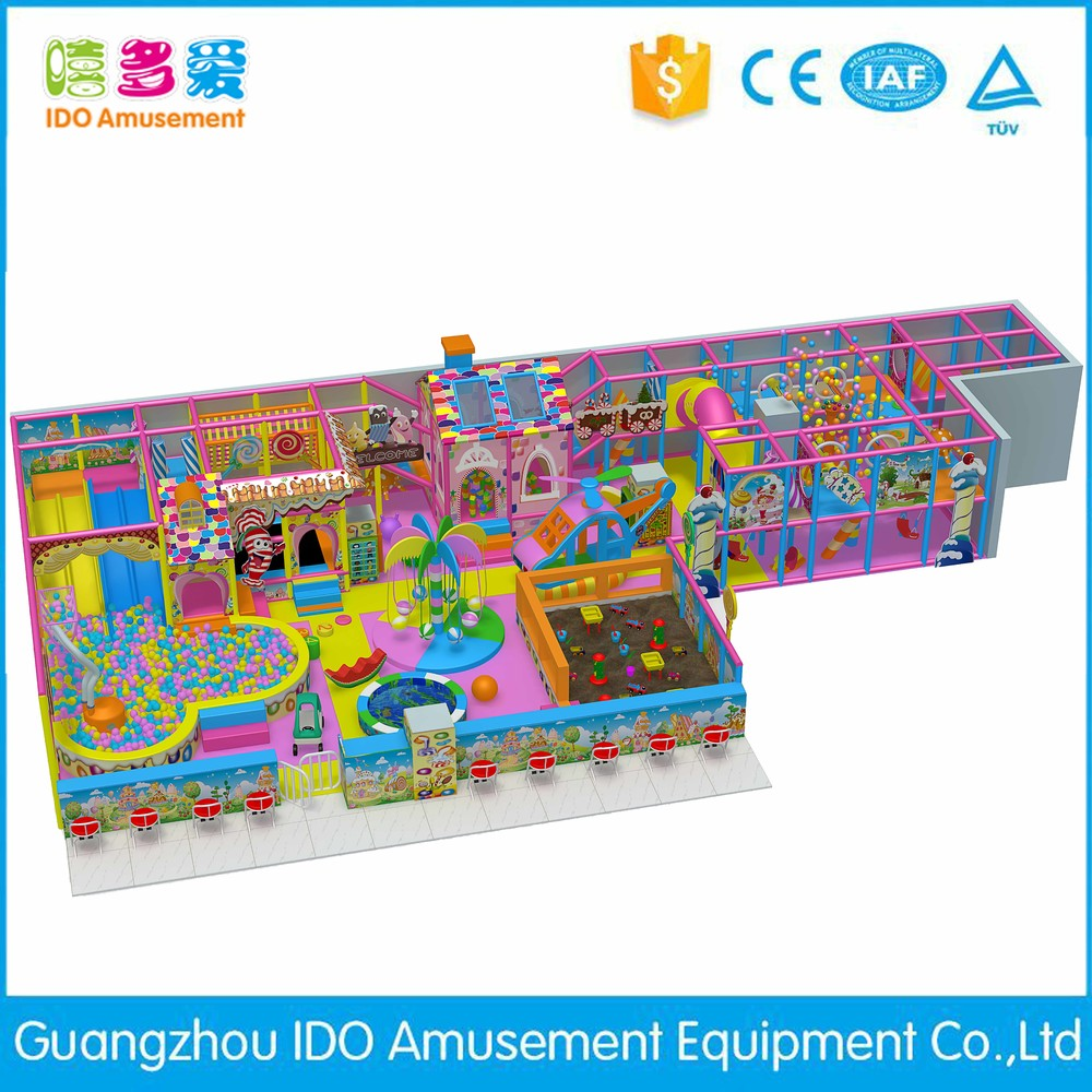 high quality kid entertainment playground indoor