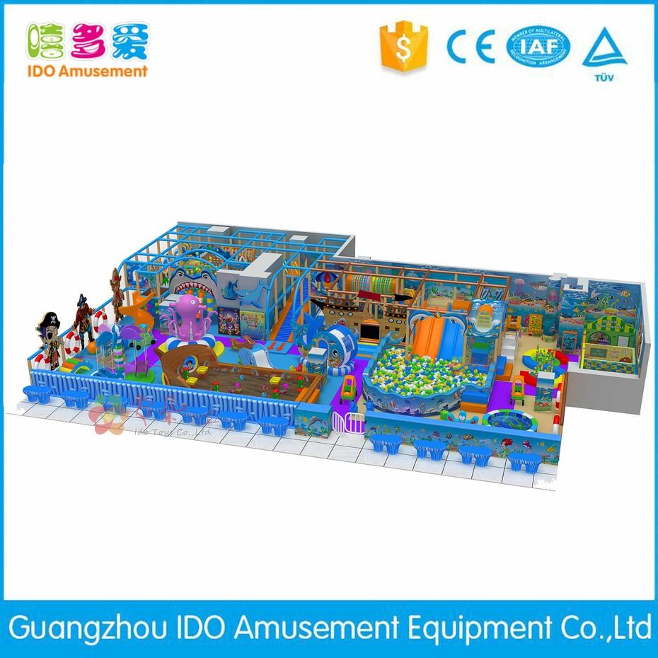 IDO Amusement high quality kid entertainment indoor games info