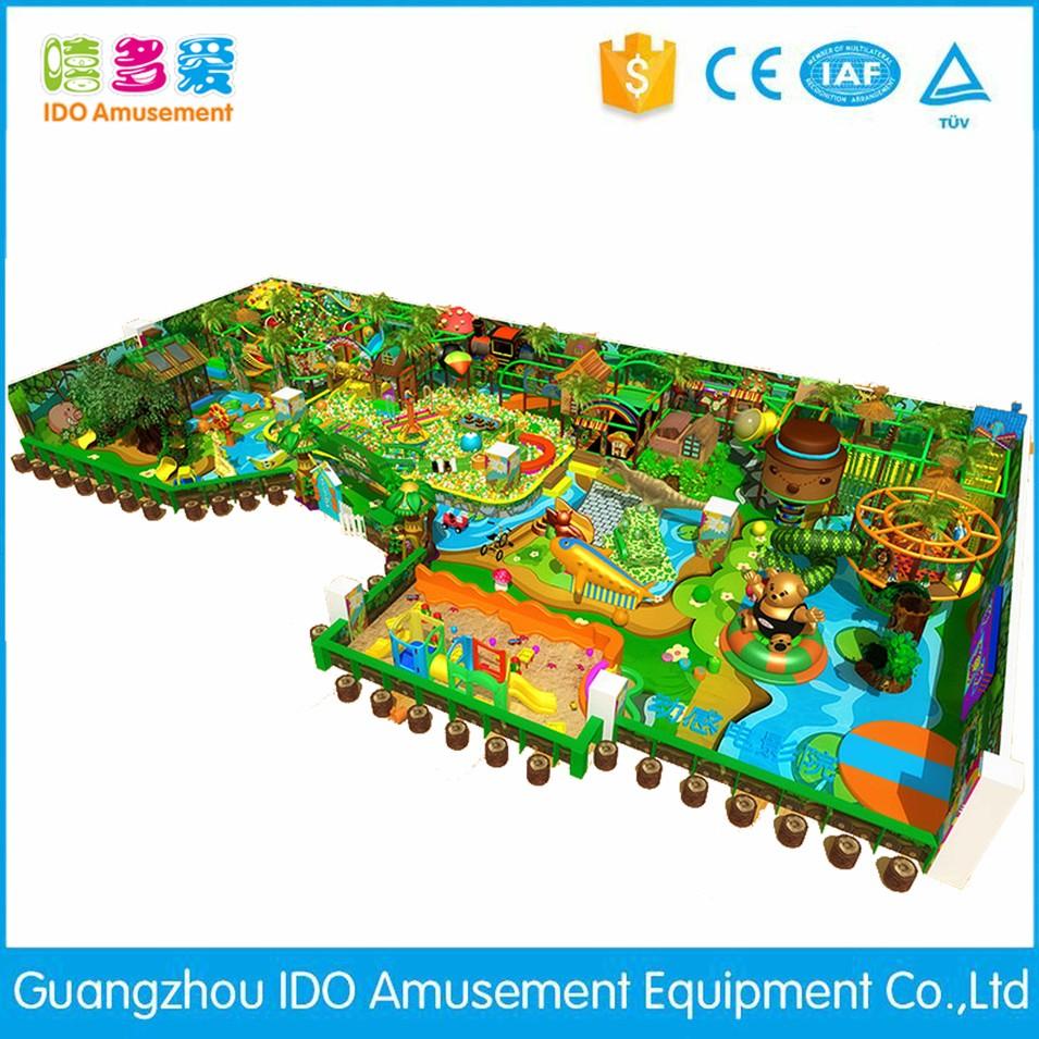 high quality kid recreation indoor playground equipment