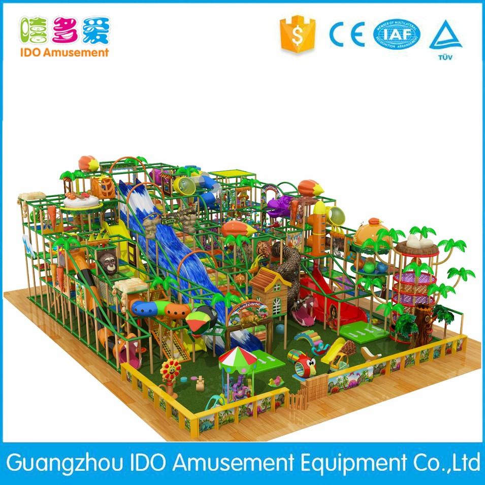 high quality kid recreation indoor playhouse