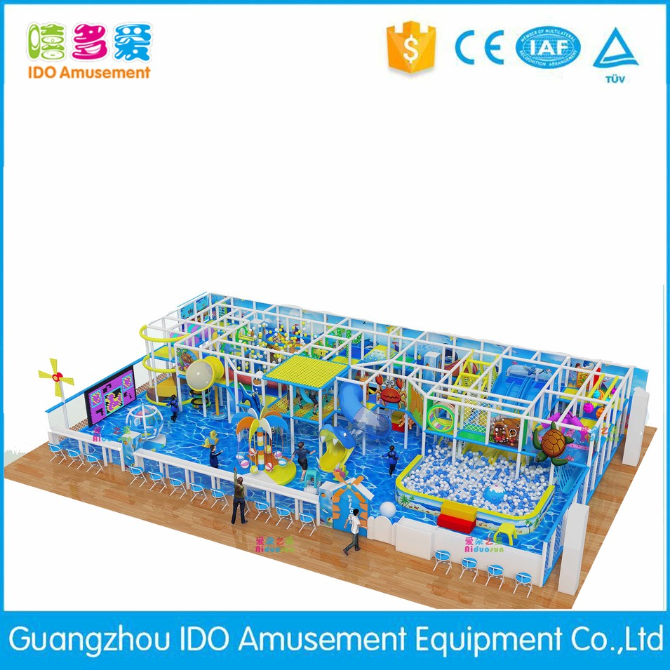 high quality kid colorful indoor playground