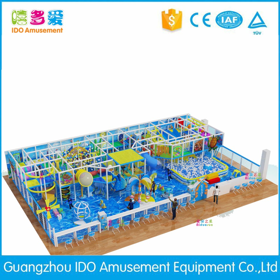 high quality kid colorful indoor playground equipment