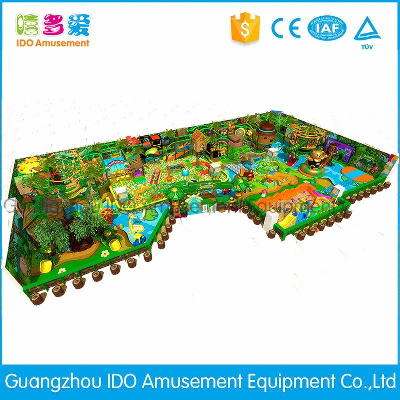 commercial colorful small children soft play equipment indoor playground