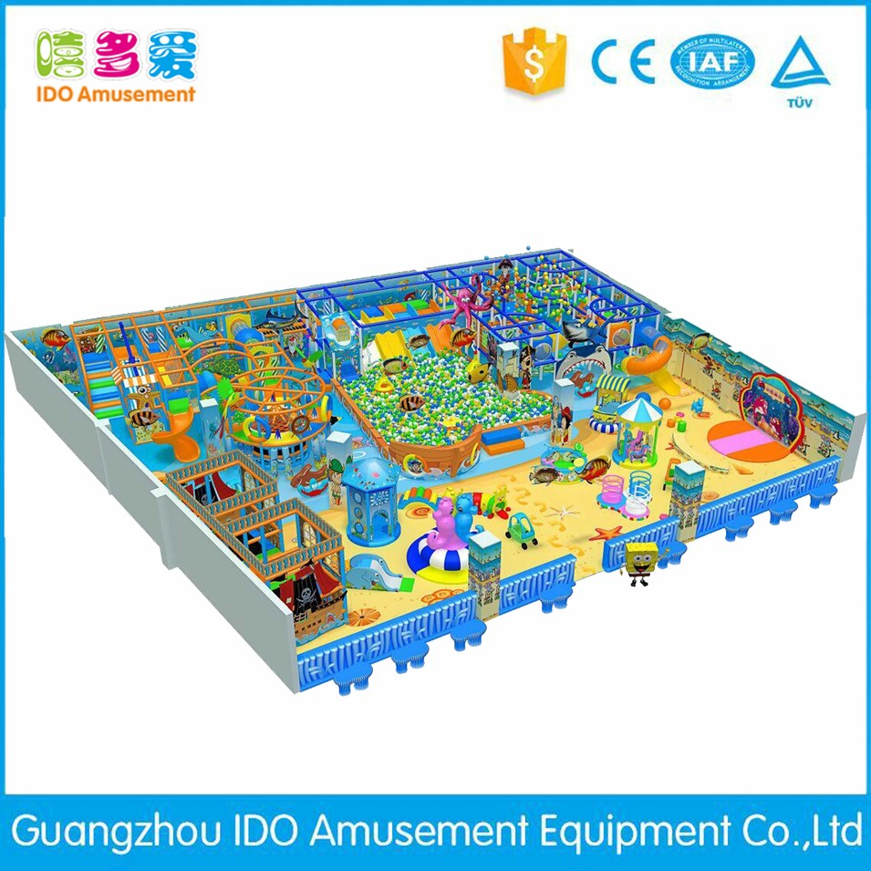 commercial colorful mcdonalds kid soft play equipment indoor playground